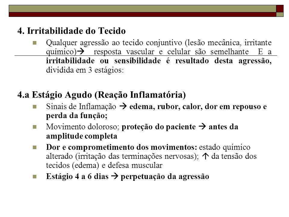 4. Irritabilidade do Tecido