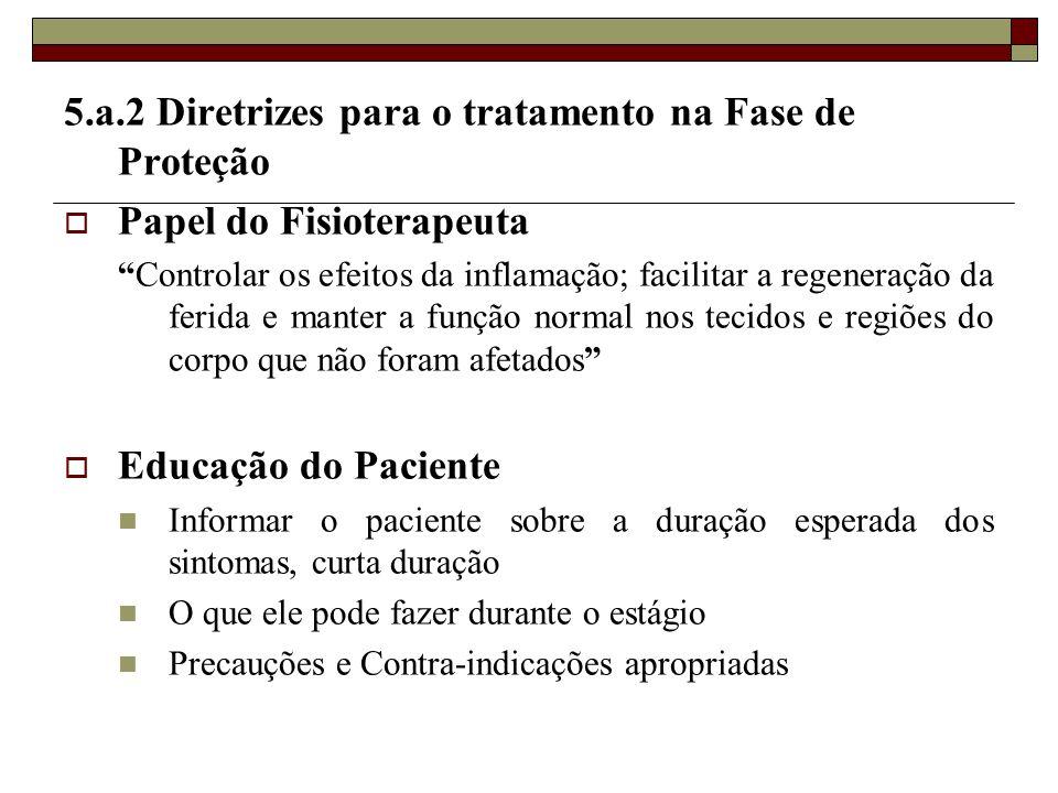 5.a.2 Diretrizes para o tratamento na Fase de Proteção