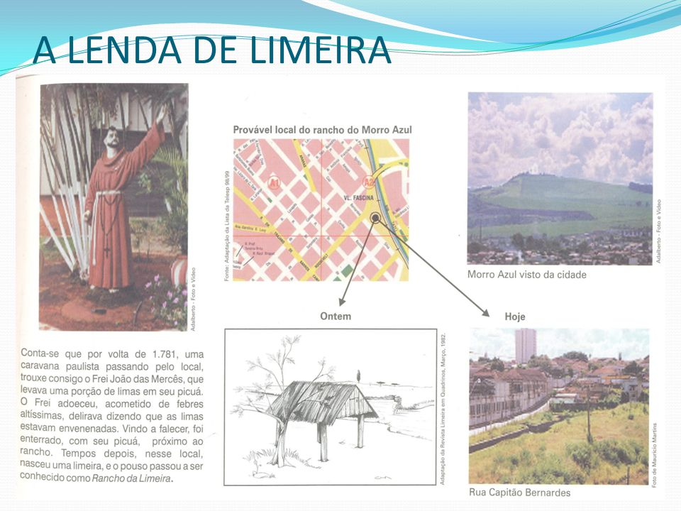 A LENDA DE LIMEIRA