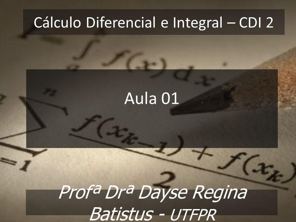Cálculo Diferencial e Integral – CDI 2