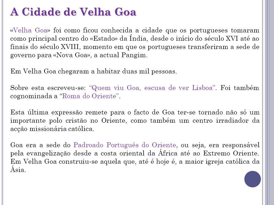 A Cidade de Velha Goa