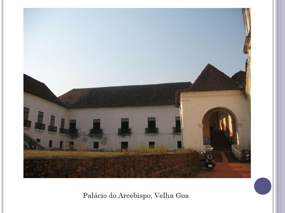 Palácio do Arcebispo, Velha Goa