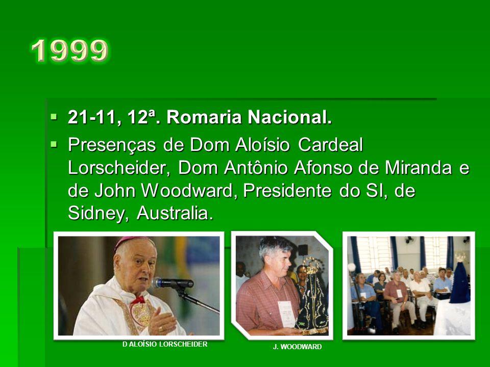 1999 21-11, 12ª. Romaria Nacional.
