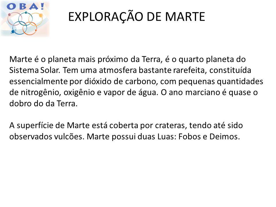 EXPLORAÇÃO DE MARTE