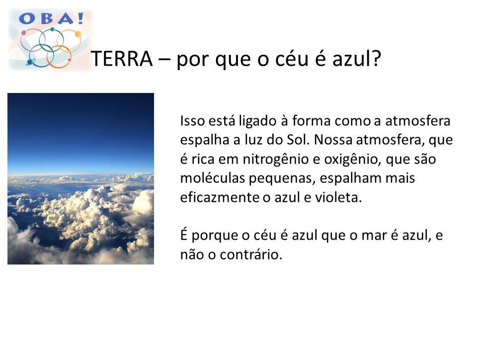 TERRA – por que o céu é azul