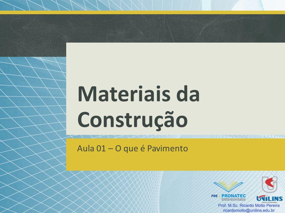 Materiais da Construção