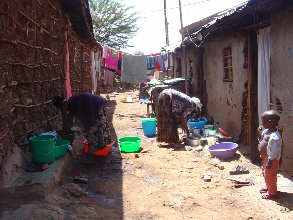 Taken in Kibera slums in Nairobi, Kenya 2006 (Constant Gardner).