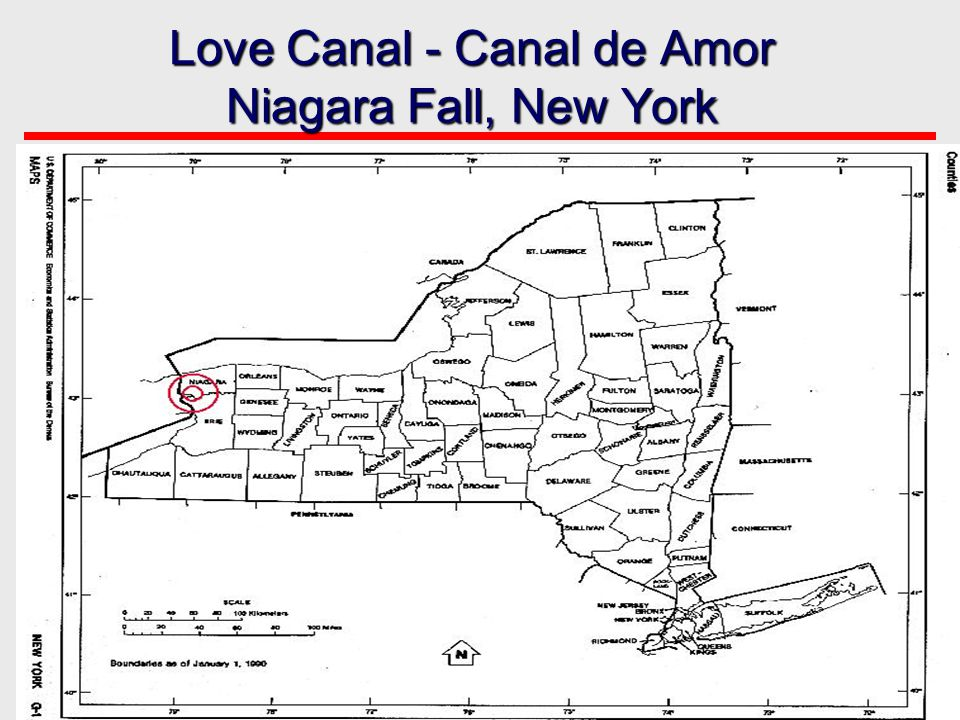 Love Canal - Canal de Amor Niagara Fall, New York