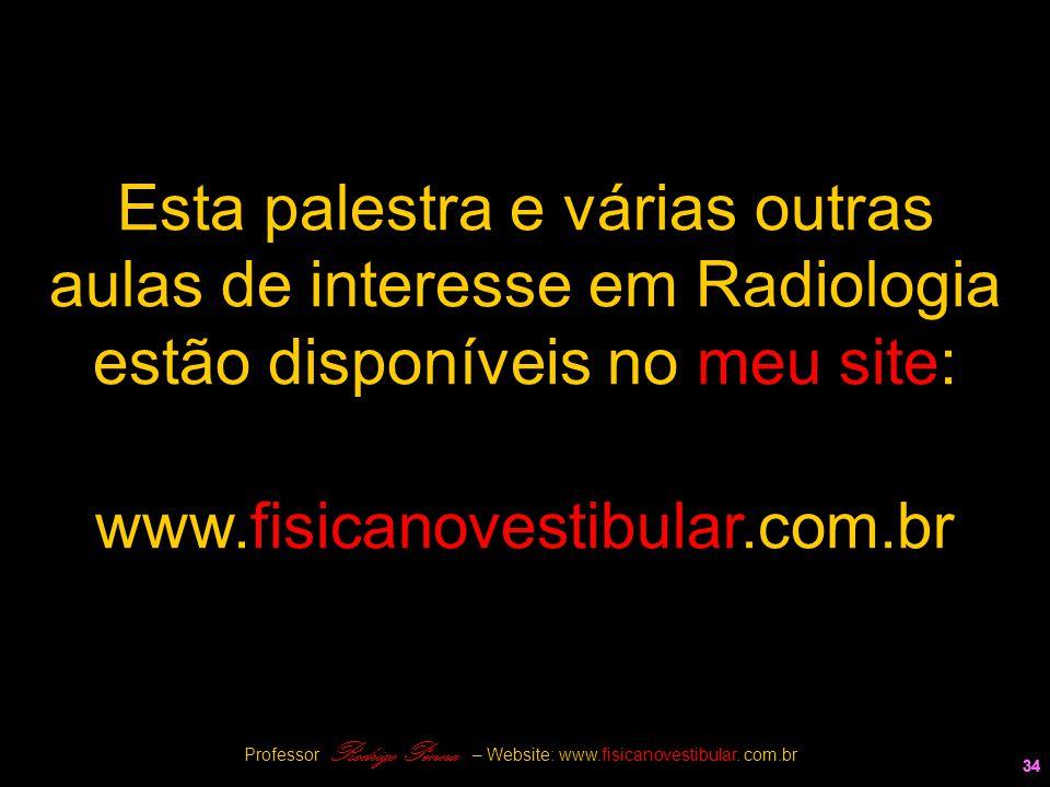 Esta palestra e várias outras aulas de interesse em Radiologia