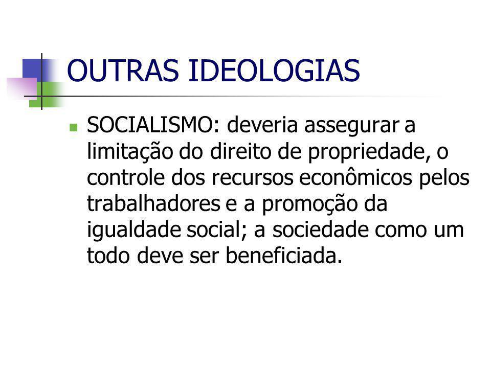OUTRAS IDEOLOGIAS