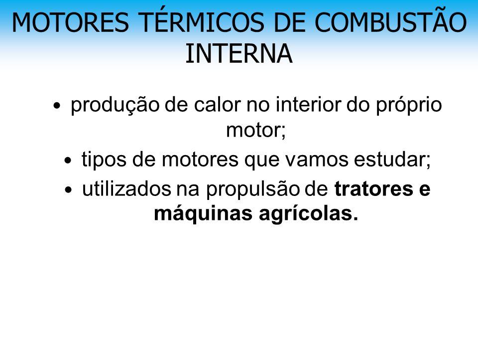 MOTORES TÉRMICOS DE COMBUSTÃO INTERNA