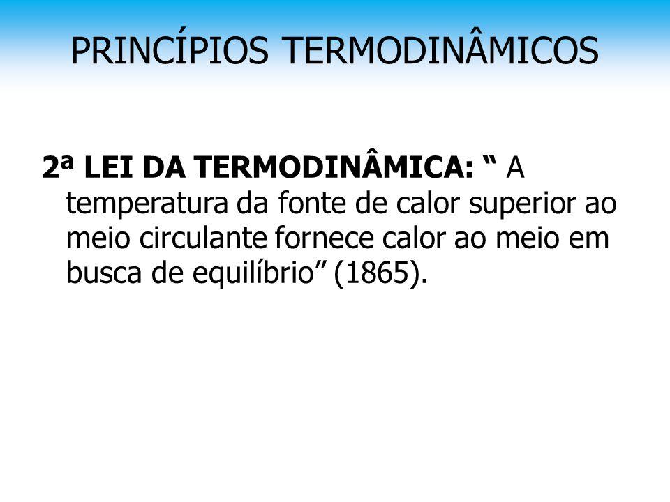 PRINCÍPIOS TERMODINÂMICOS