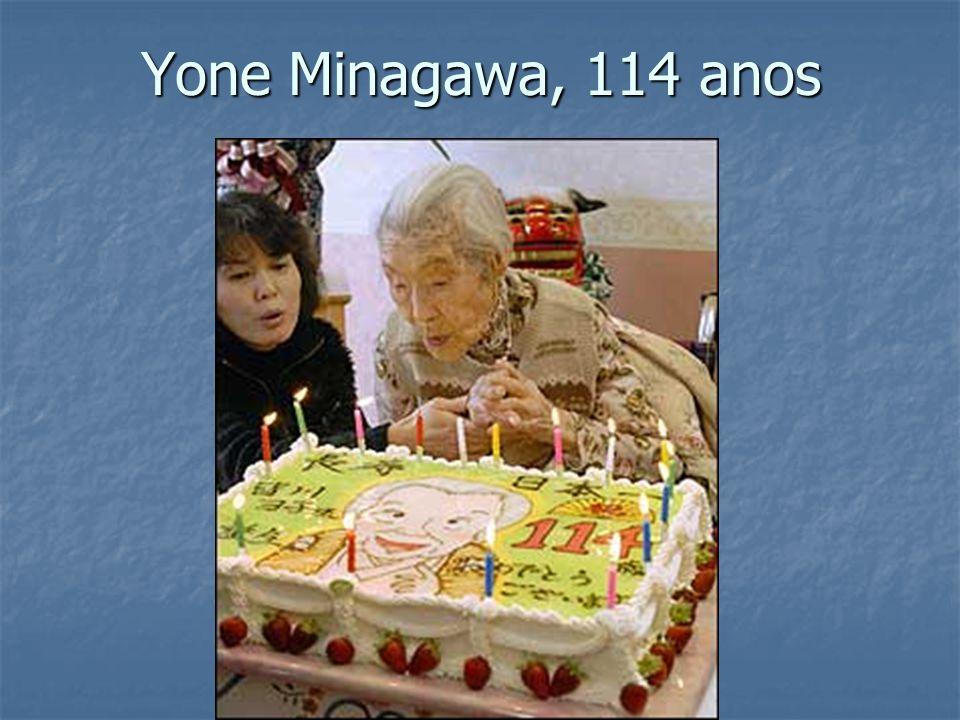Yone Minagawa, 114 anos
