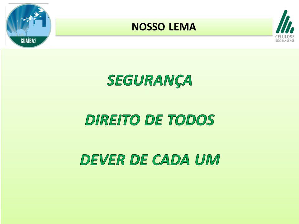 SEGURANÇA DIREITO DE TODOS DEVER DE CADA UM