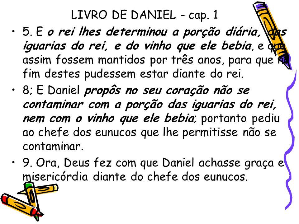 LIVRO DE DANIEL - cap. 1
