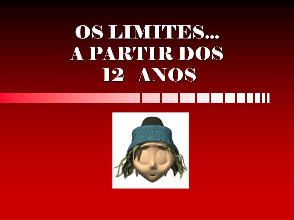 OS LIMITES... A PARTIR DOS 12 ANOS
