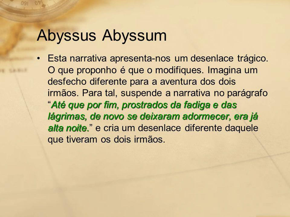 Abyssus Abyssum