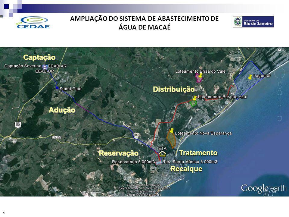 AMPLIAÇÃO DO SISTEMA DE ABASTECIMENTO DE ÁGUA DE MACAÉ CAPTAÇÃO