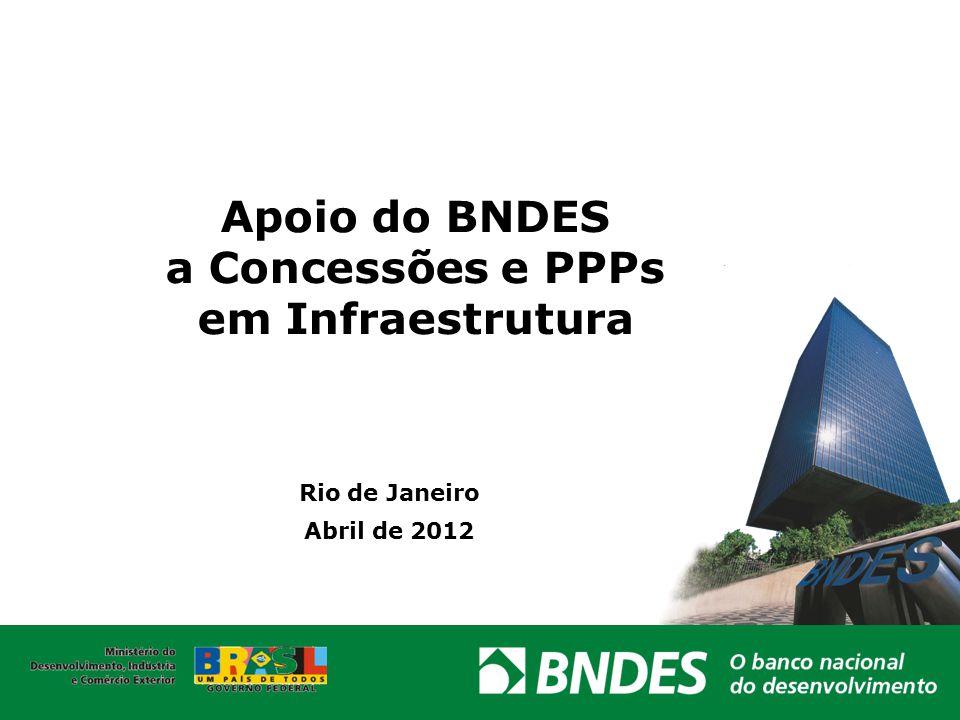 Apoio do BNDES a Concessões e PPPs