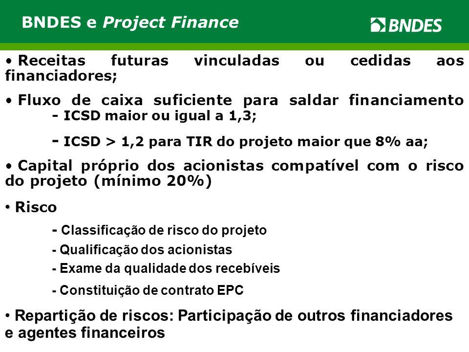 BNDES e Project Finance