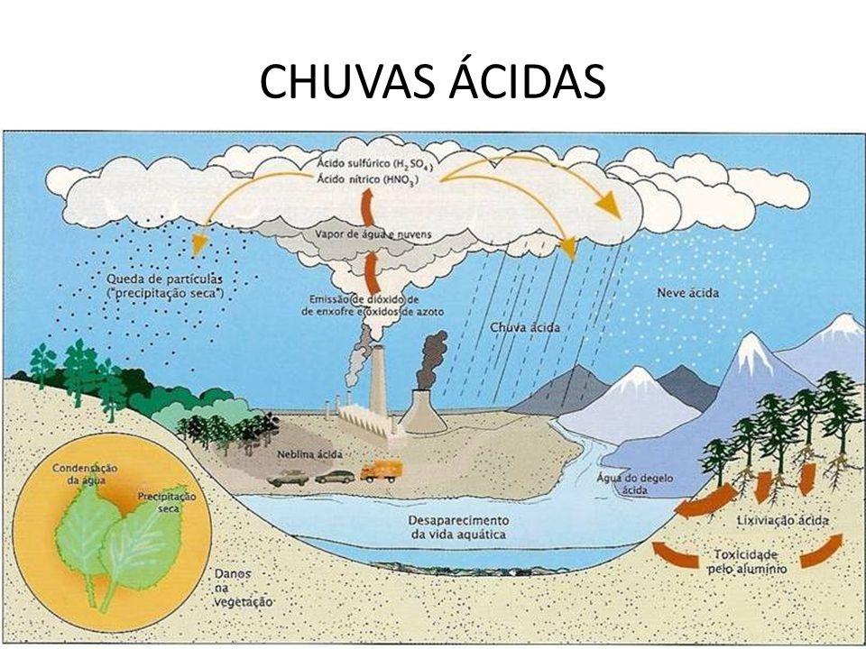 CHUVAS ÁCIDAS