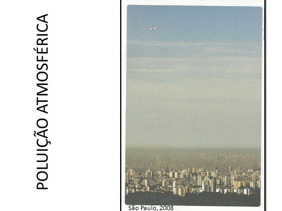 POLUIÇÃO ATMOSFÉRICA São Paulo, 2008