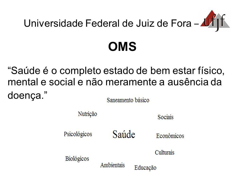 OMS Universidade Federal de Juiz de Fora –