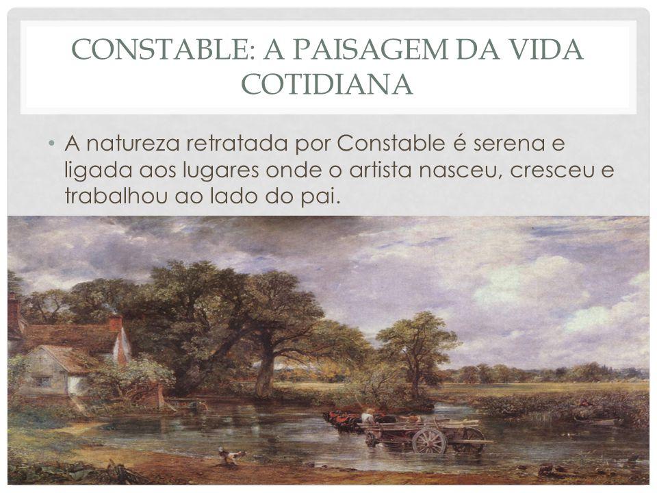 Constable: a paisagem da vida cotidiana