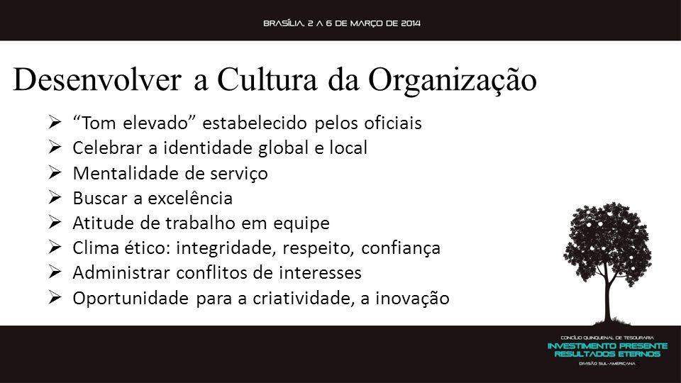 Desenvolver a Cultura da Organização