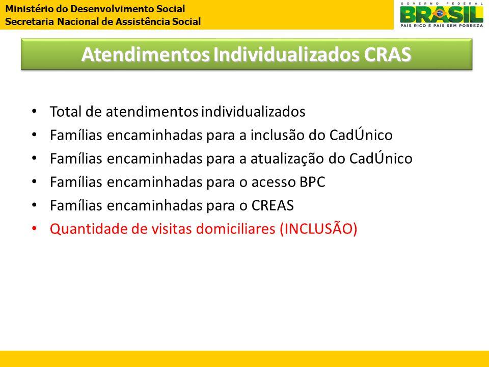Atendimentos Individualizados CRAS