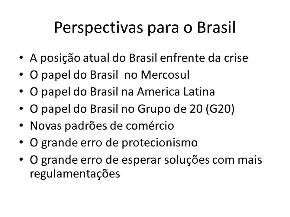 Perspectivas para o Brasil