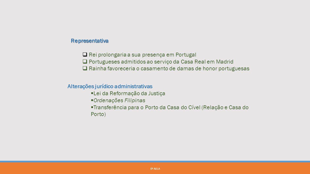 Rei prolongaria a sua presença em Portugal