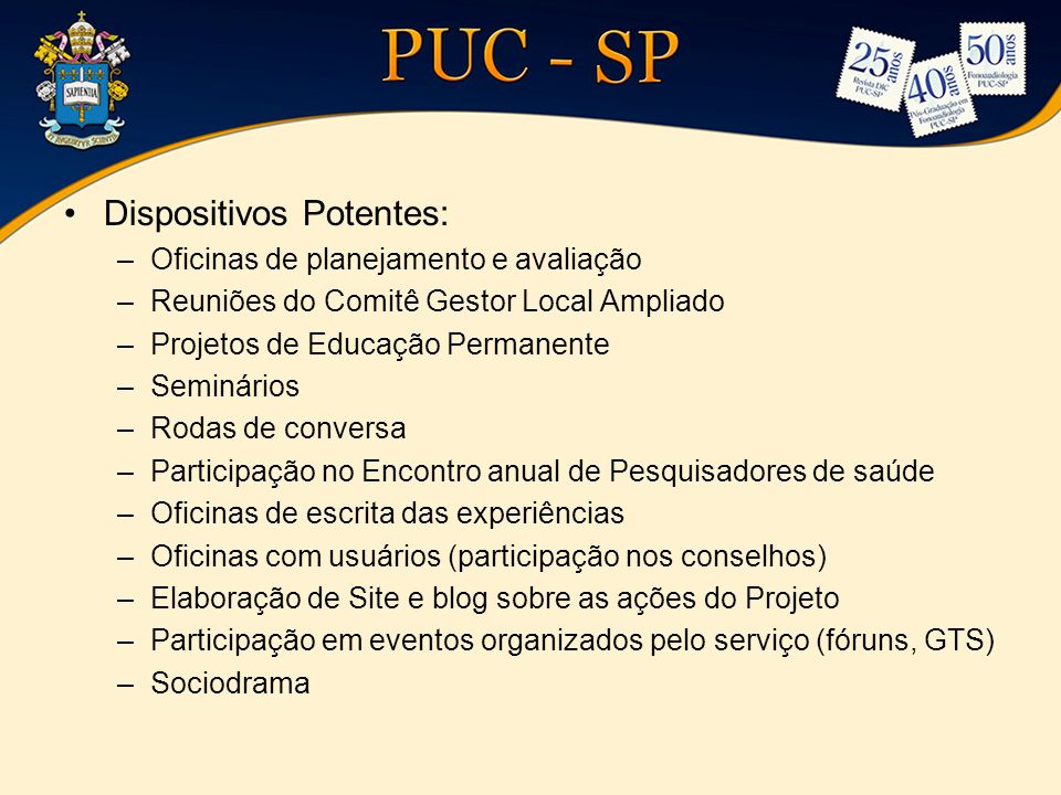Dispositivos Potentes:
