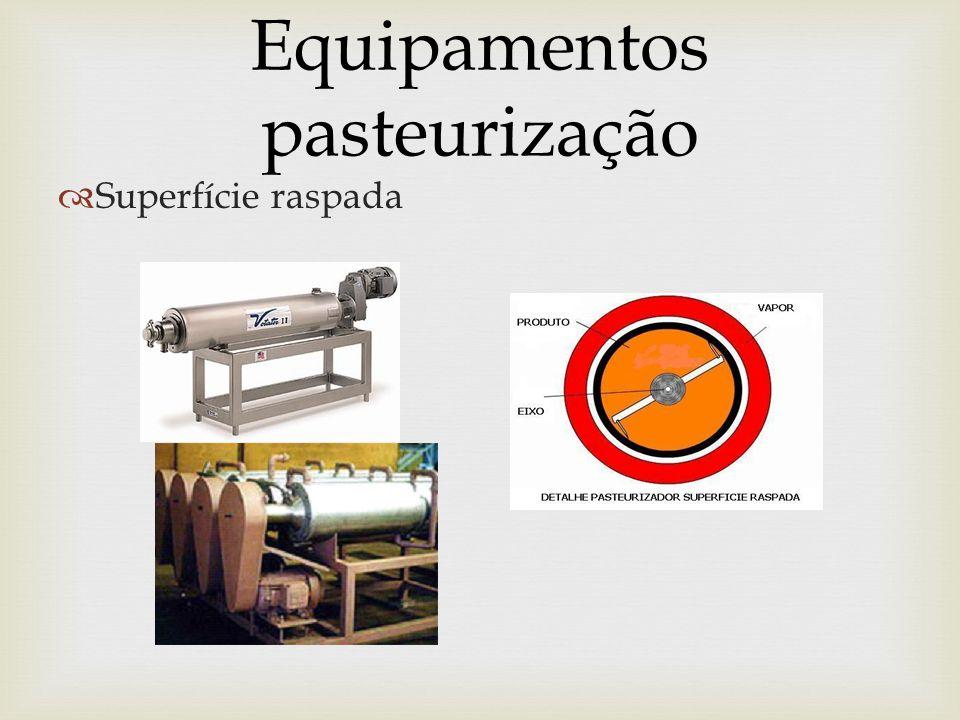 Equipamentos pasteurização