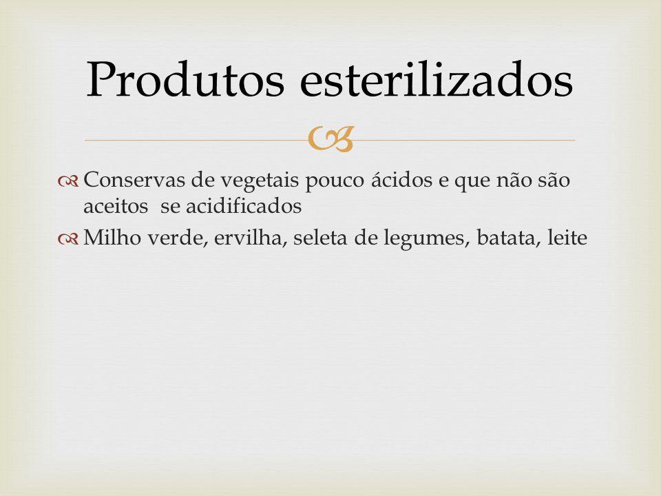 Produtos esterilizados