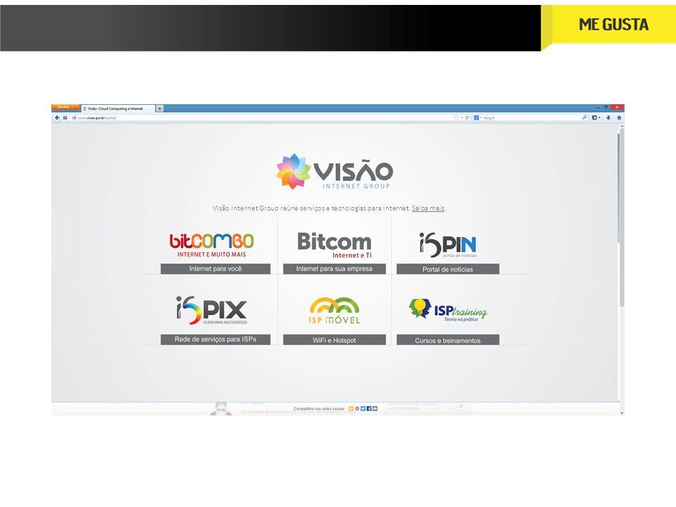 Visão Internet Group reúne serviços e tecnologias para internet