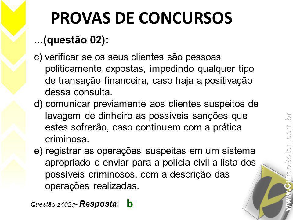 PROVAS DE CONCURSOS b ...(questão 02):