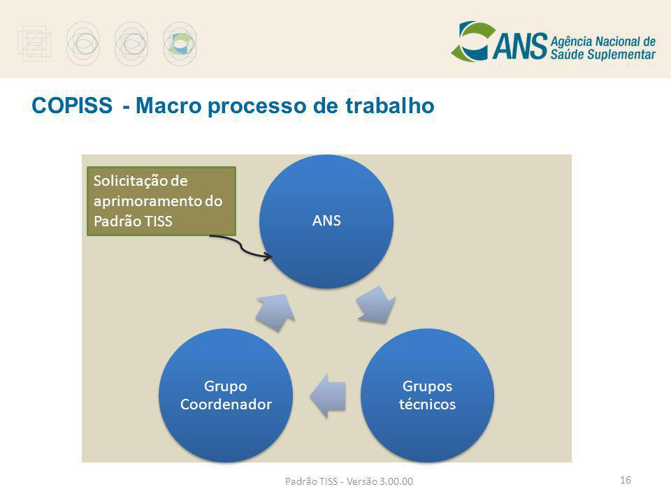 COPISS - Macro processo de trabalho