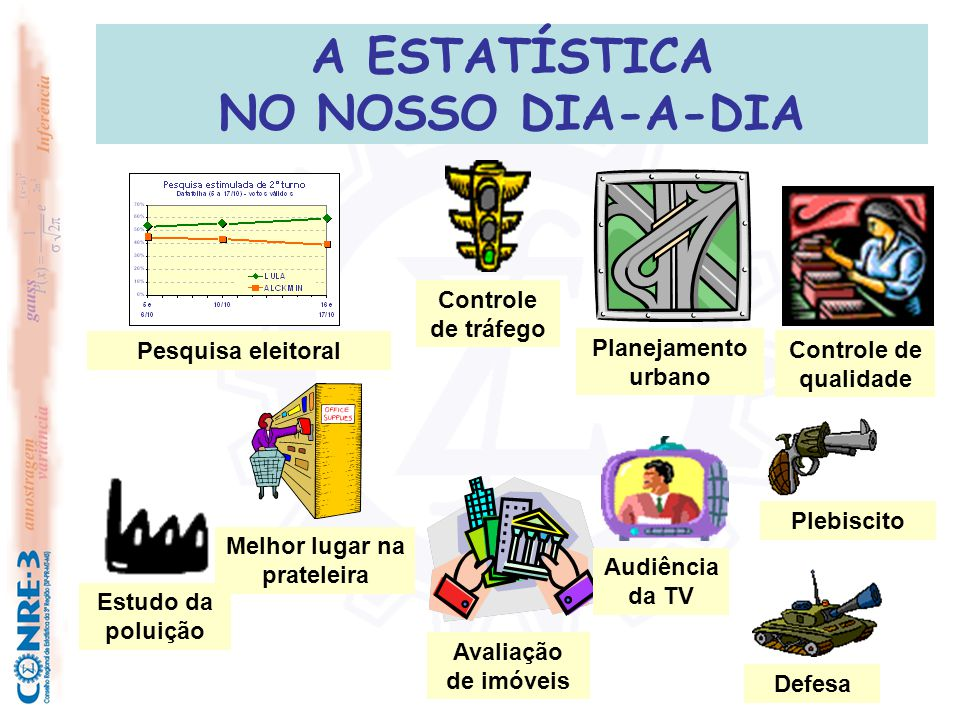 A ESTATÍSTICA NO NOSSO DIA-A-DIA