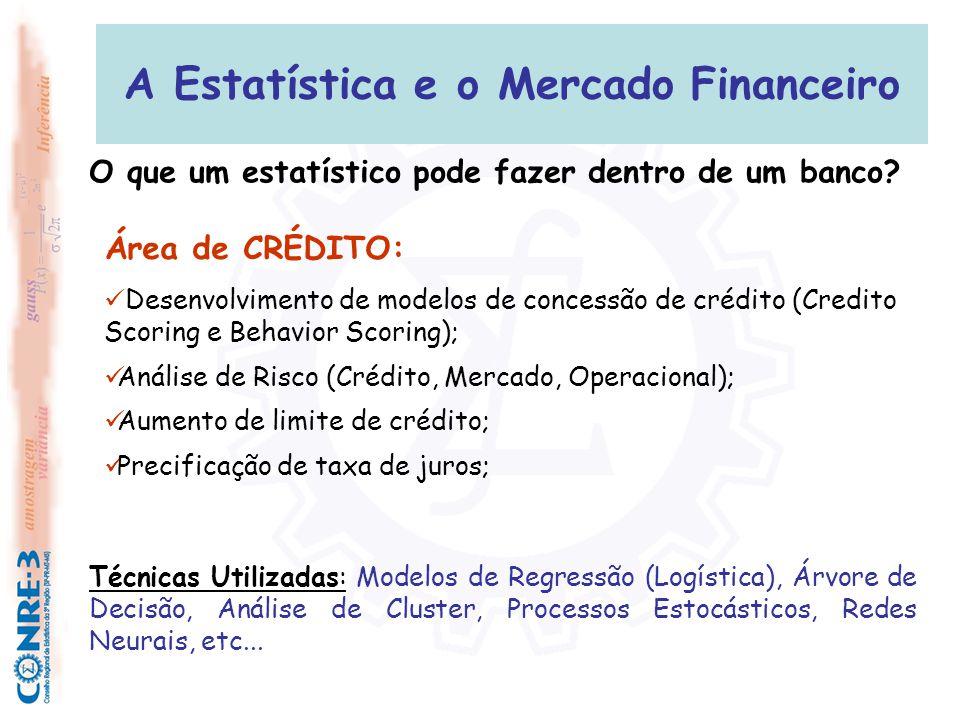 A Estatística e o Mercado Financeiro