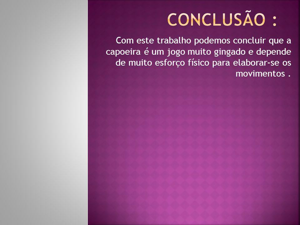 Conclusão :