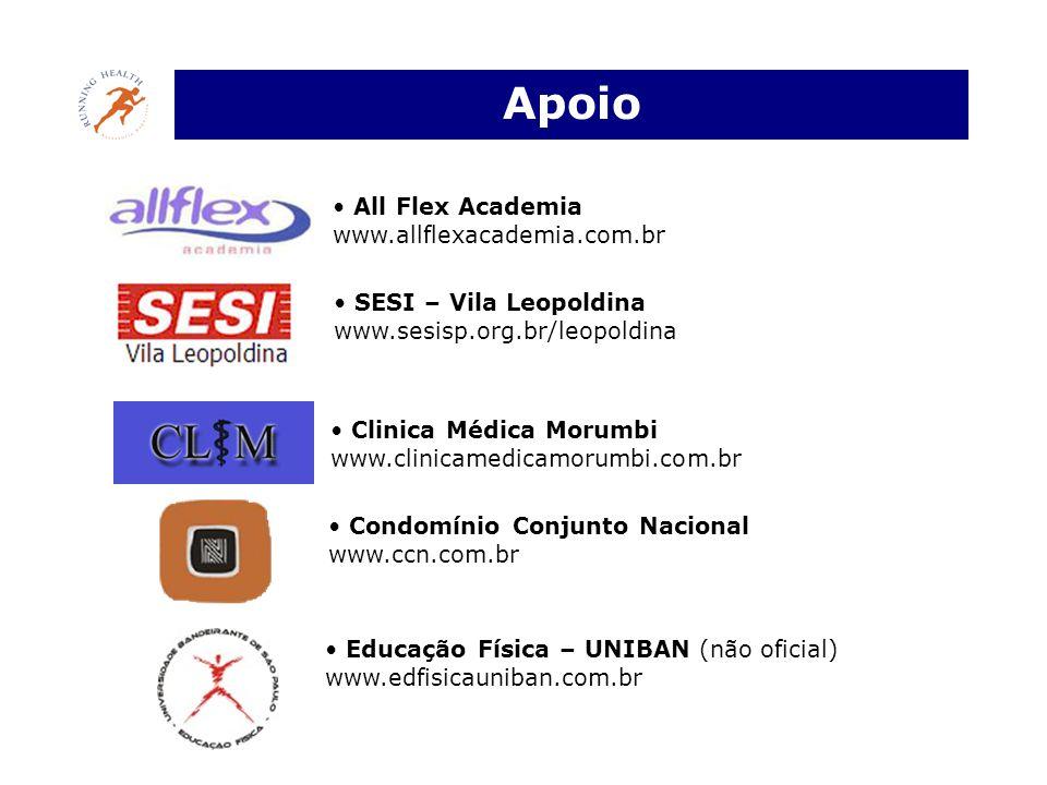 Apoio All Flex Academia www.allflexacademia.com.br