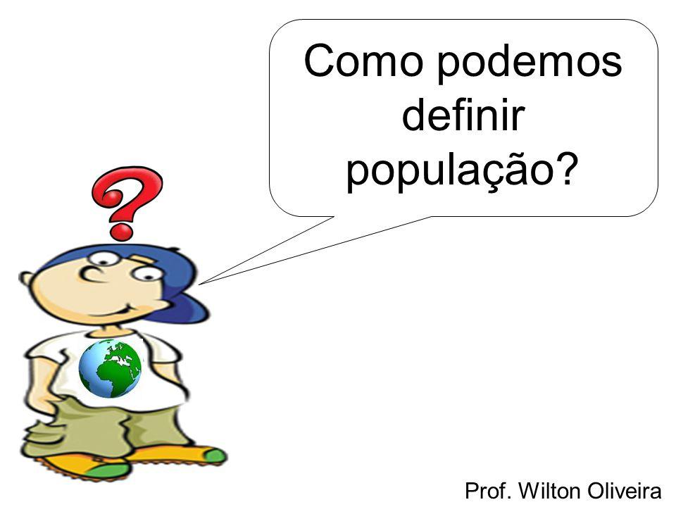 Como podemos definir população