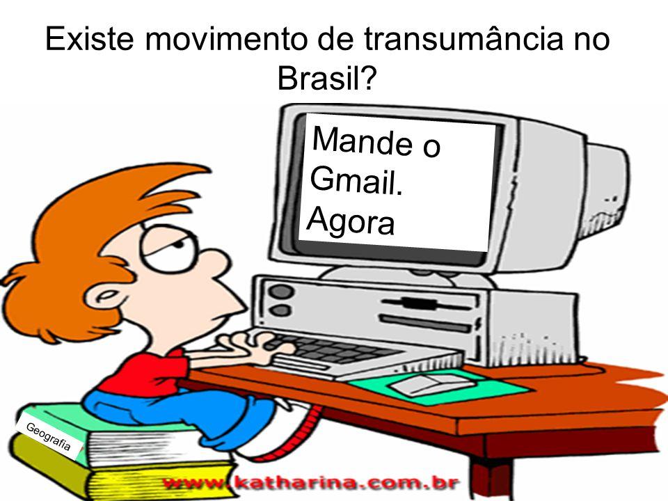 Existe movimento de transumância no Brasil
