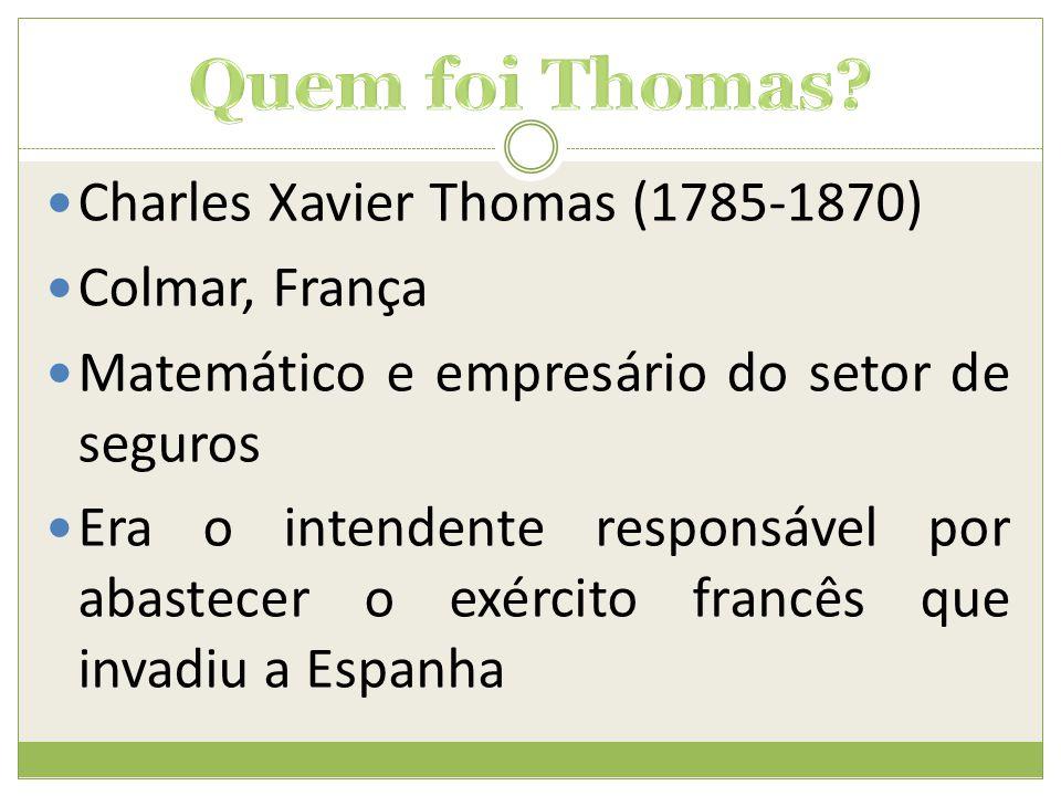 Quem foi Thomas Charles Xavier Thomas (1785-1870) Colmar, França