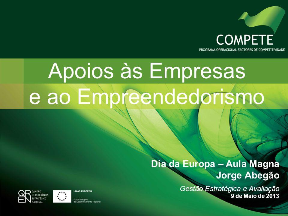 Apoios às Empresas e ao Empreendedorismo