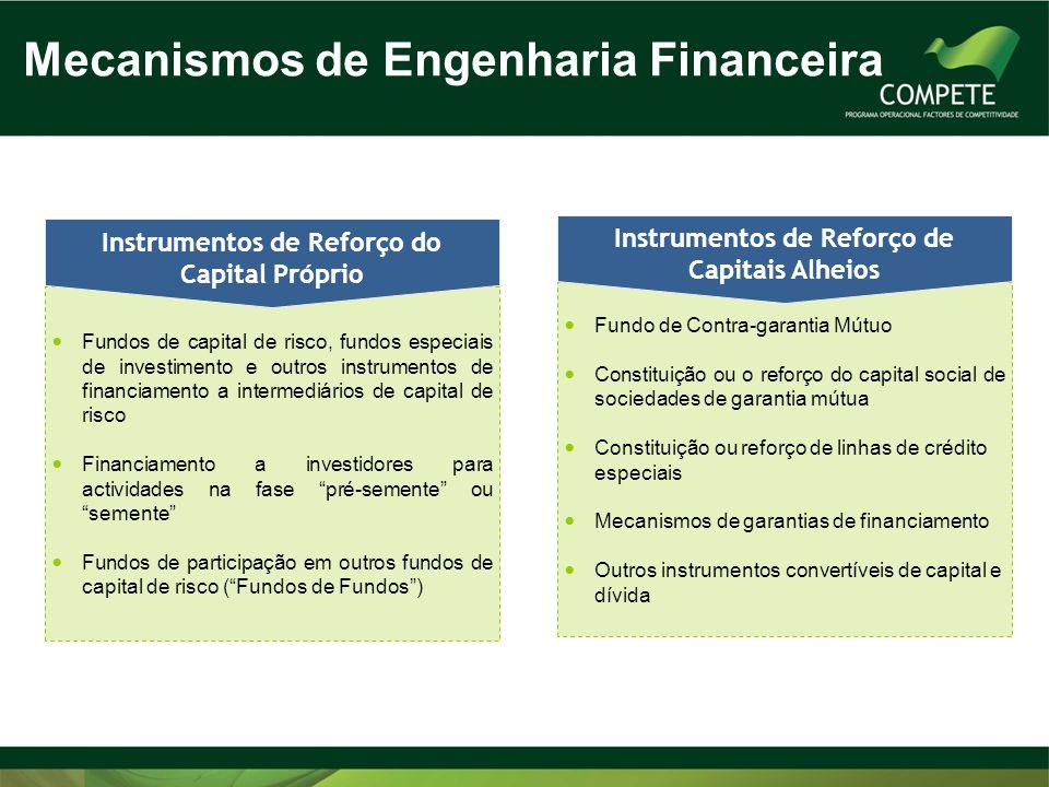 Mecanismos de Engenharia Financeira