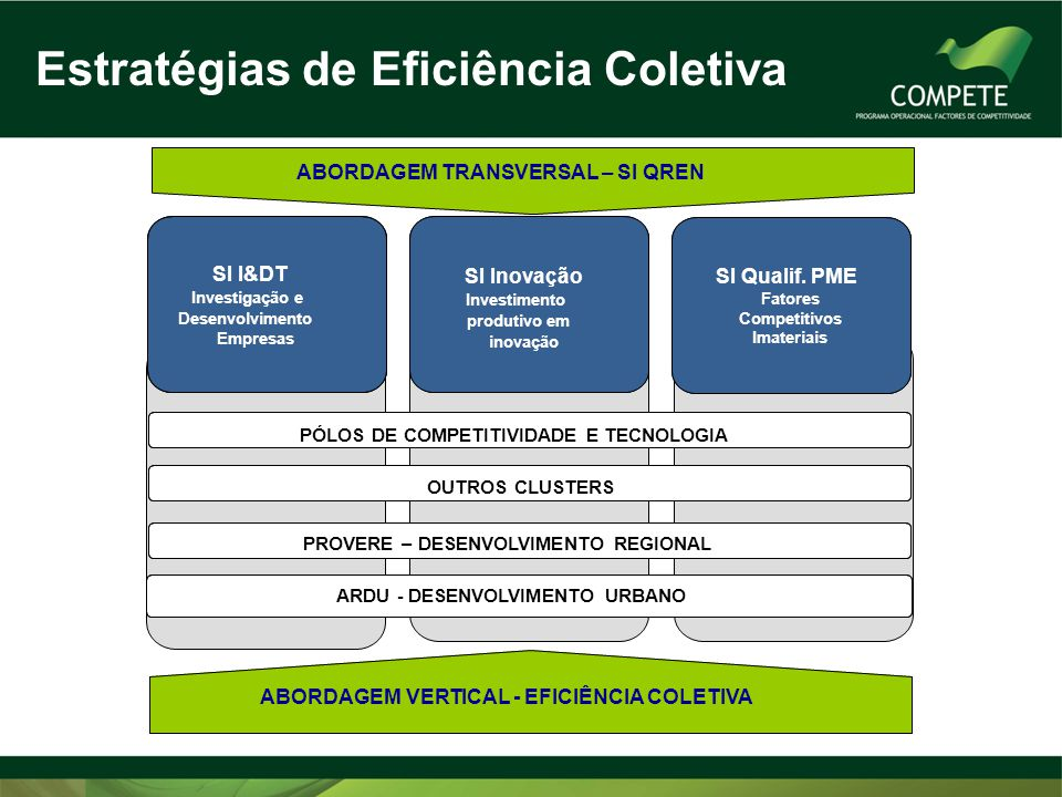 Estratégias de Eficiência Coletiva