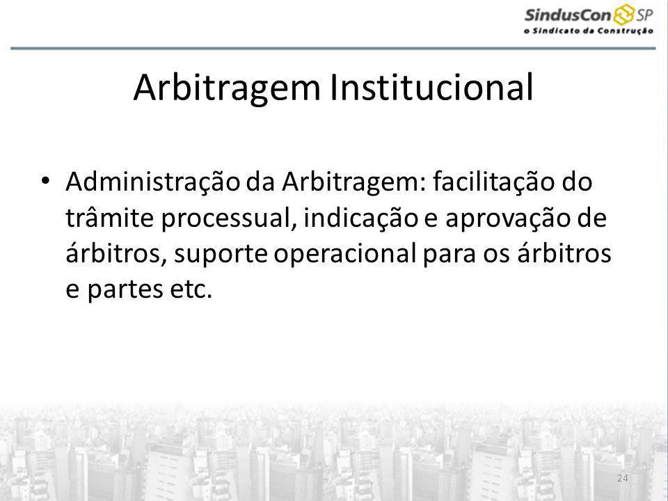 Arbitragem Institucional