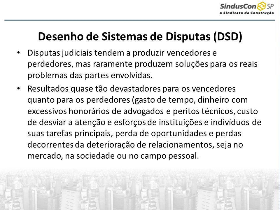 Desenho de Sistemas de Disputas (DSD)